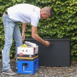 Bulkbox van eSafe. Voor levering en ophaling van grote volumes.
