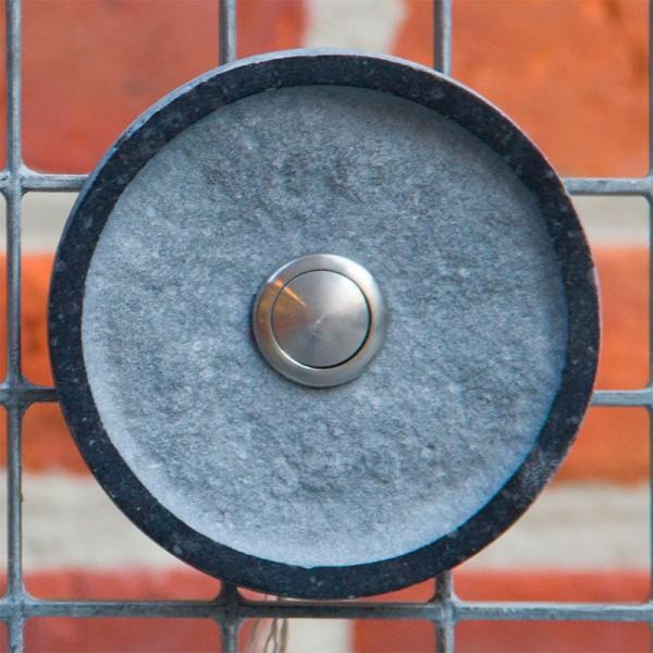 Ronde design deurbel in arduin