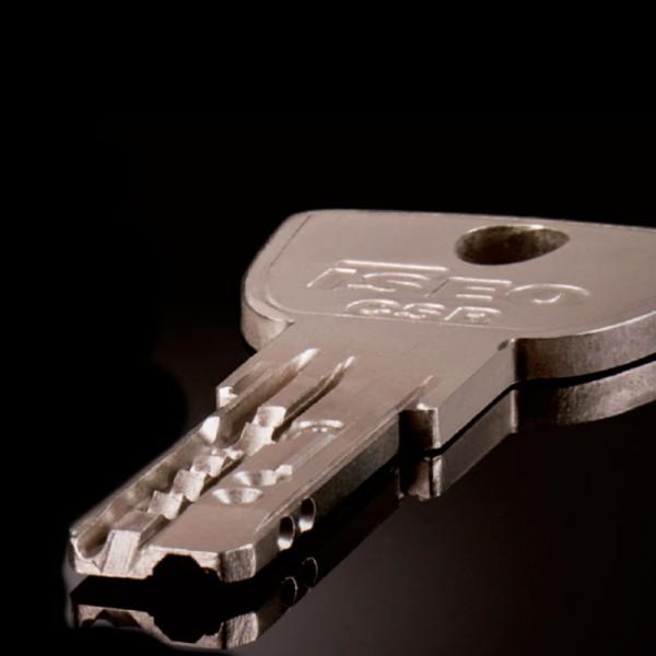Veiligheidssleutels met certificaat