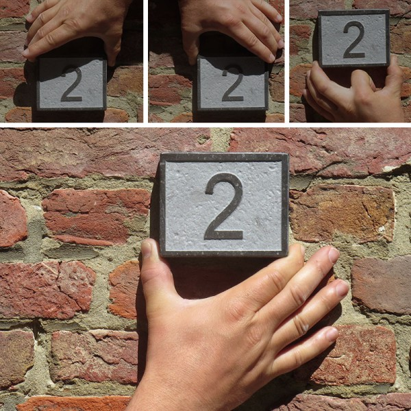 Plaatsingsdienst naambord - huisnummer