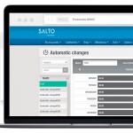Salto SVN : Toegangscontrole op grote schaal. Data-on-card.