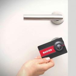 Libra Smart: Eenvoudig toegangsbeheer. Badge of smartphone. RFID.
