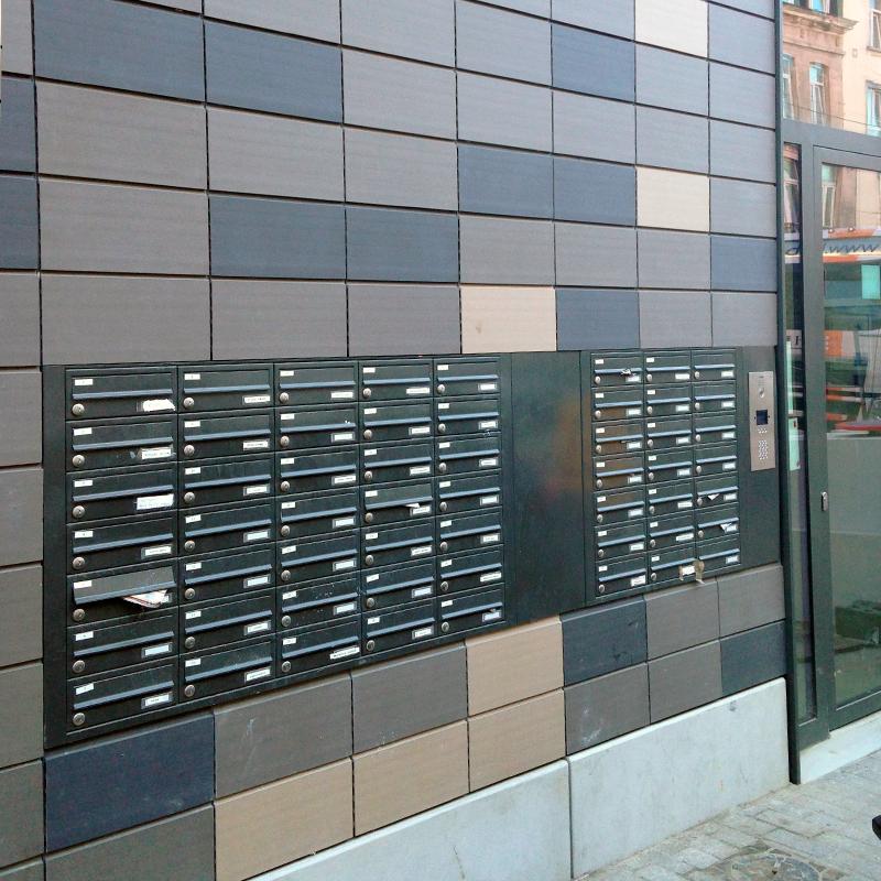 56 brievenkleppen realisatie atelier van eyck in brussel