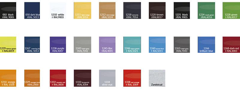 kleuren kleeffilm