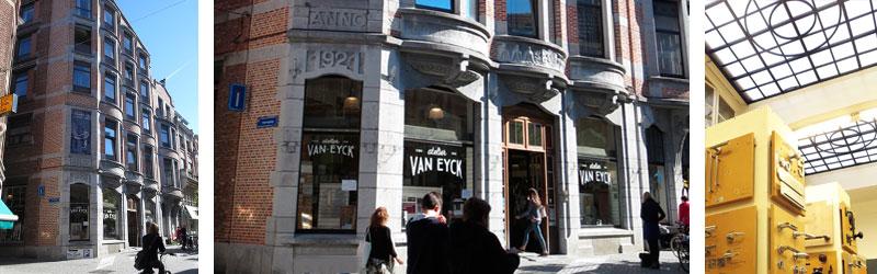 atelier van eyck in prachtig gebouw in tiensestraat