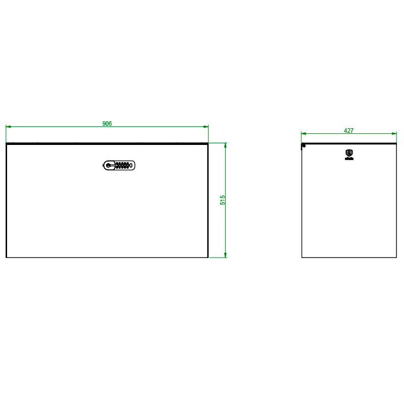 technische tekening afhaal-lever-box hulkbox