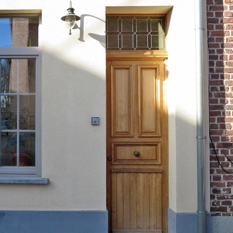 gerenoveerd huis met mooie draadloze deurbel