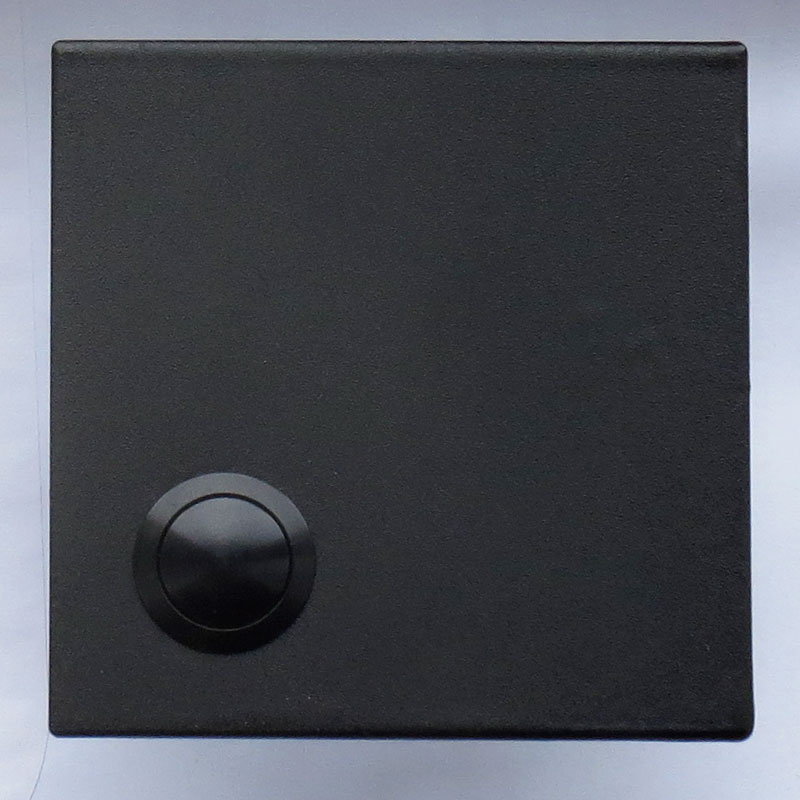 zwarte-deurbel