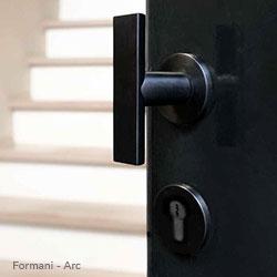 deurbeslag formani arc zwarte kruk