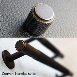 nieuw meubelbeslag Convex Kanelaz-reeks