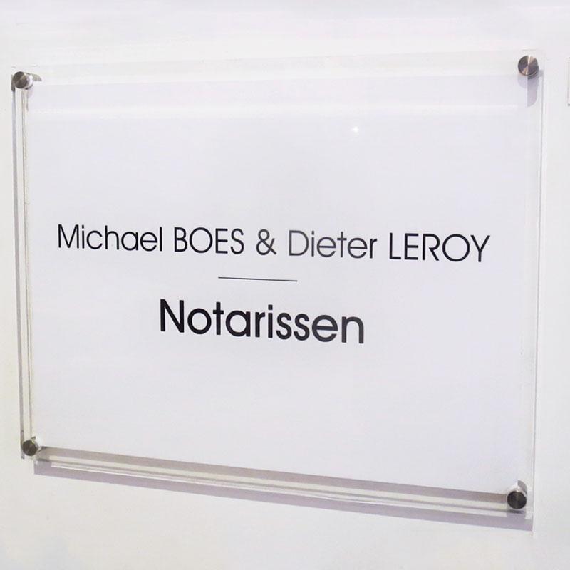 naambord notarissen