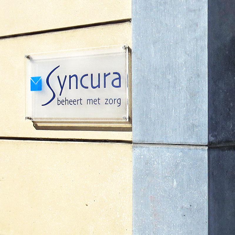plexi naamboord syncura vaartstraat Leuven