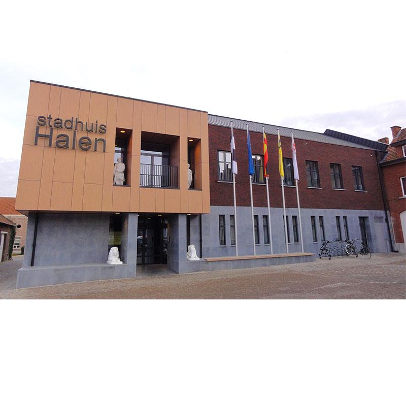 Toegangscontrole stadhuis Halen