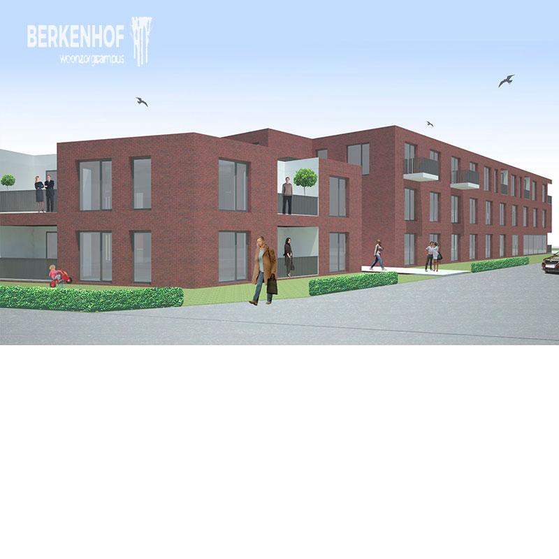Toegangscontrole in WZC BeErkenhof, heers