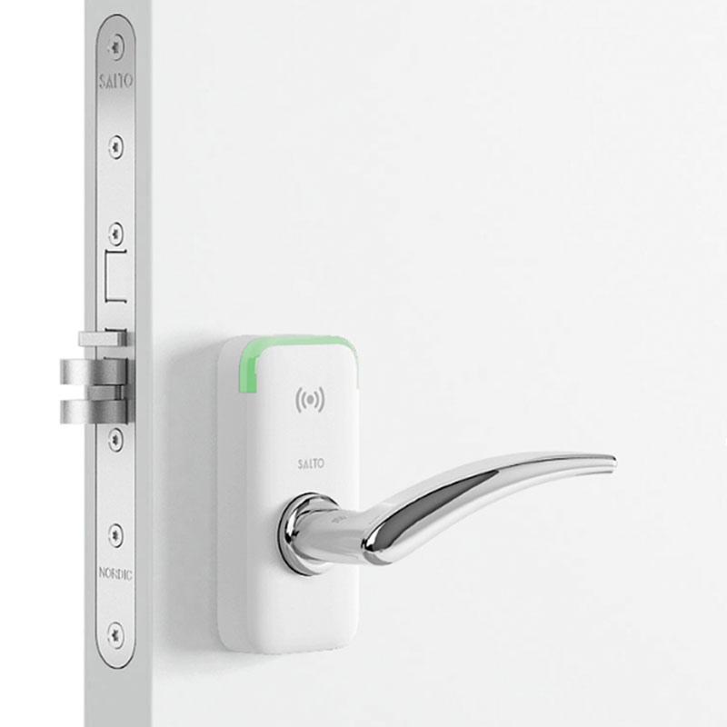 wit stand-alone deurbeslag Salto